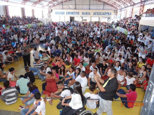Multidão compareceu ao evento em 2014.