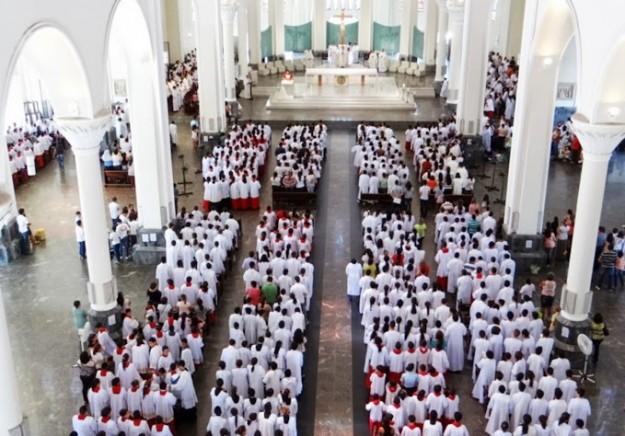Missa espera receber 5 mil coroinhas.