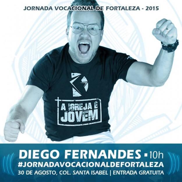 Diego Fernandes canta pela primeira vez na JVF2015