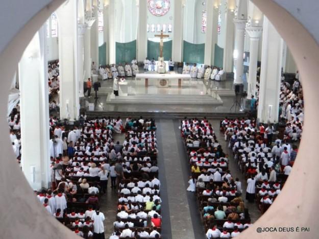 Foto: arquidiocese de Fortaleza (Joca de Deus é Pai)/ Divulgação.
