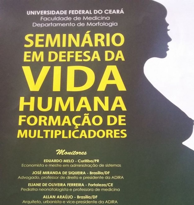 Seminário tem entrada gratuita.
