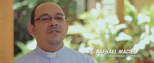 Padre Rafhael Maciel, sacerdote da Arquidiocese de Fortaleza.