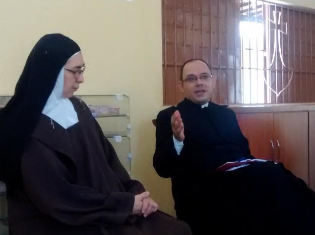 Padre Rafhael Maciel e Madre Bernadete.