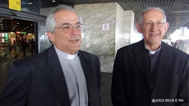 Núncio Apostólico e Dom José Antonio. Foto: Joca de Deus é Pai.