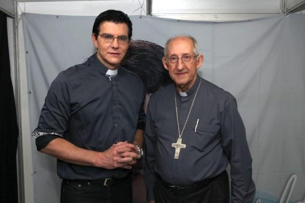 Padre Reginaldo Manzotti e Dom José Antonio.