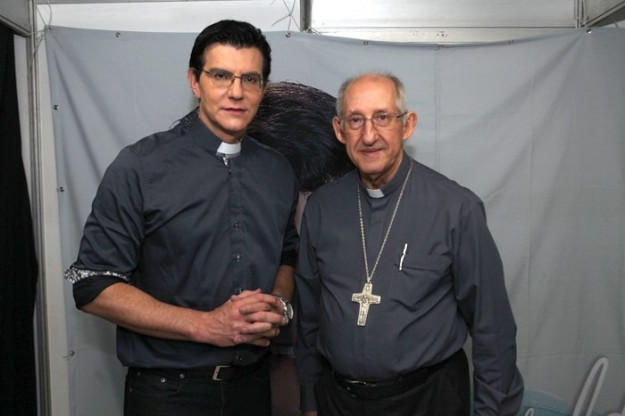 Padre Reginaldo  Manzotti é um dos convidados do Jubileu Centenário.