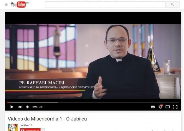 Padre quer que a  mensagem da Misericórdia se espalhe pela internet.