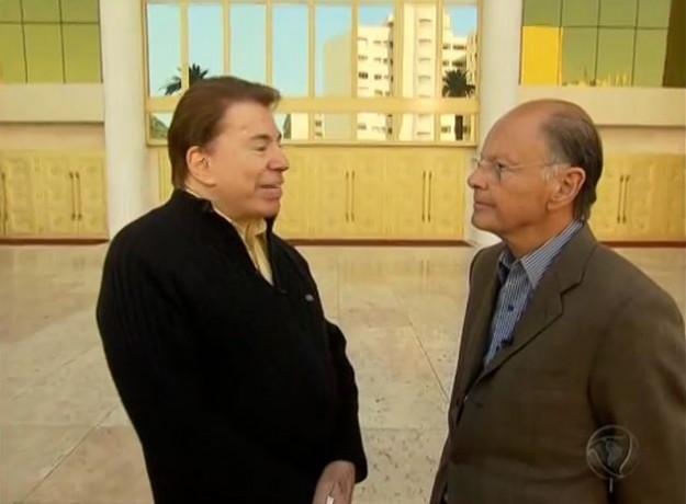 Silvio Santos e Edir Macedo.