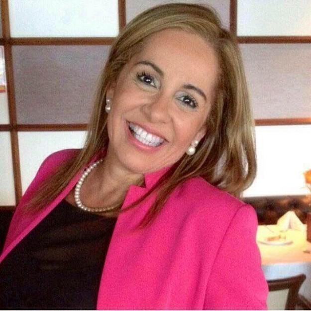Rossana Brasil Kopf conhecida como Dama do Bem. Foto: arquivo pessoal.