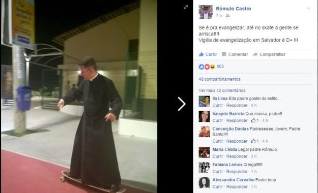 Padre Rômulo Castro.
