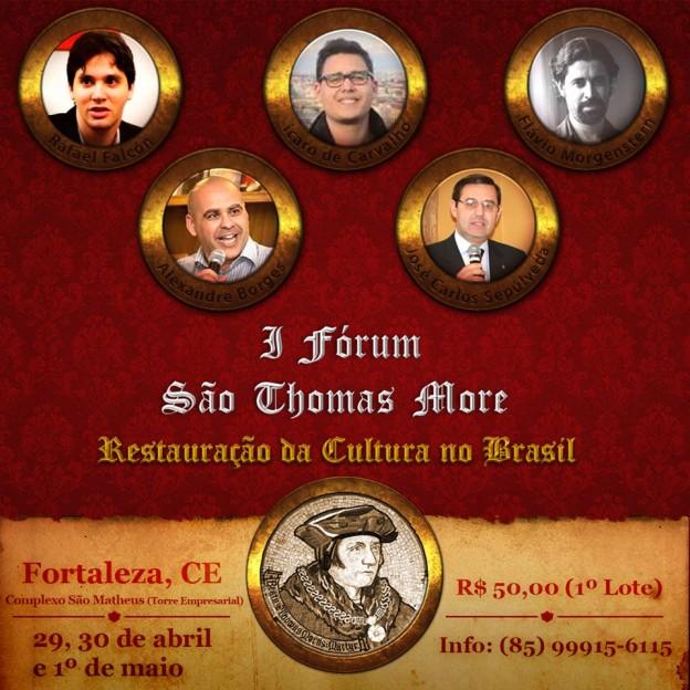 I Fórum São Thomas More.