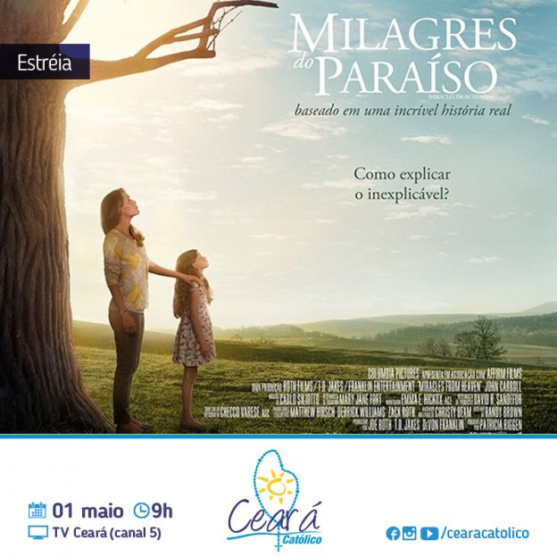 Ceará Católico vai ao ar todos os domingos das 9h às 10h, na TVCeará, canal 5.