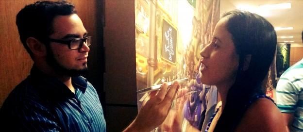 Larissa Nobre se emocionou com a atuação de Jennifer Garner