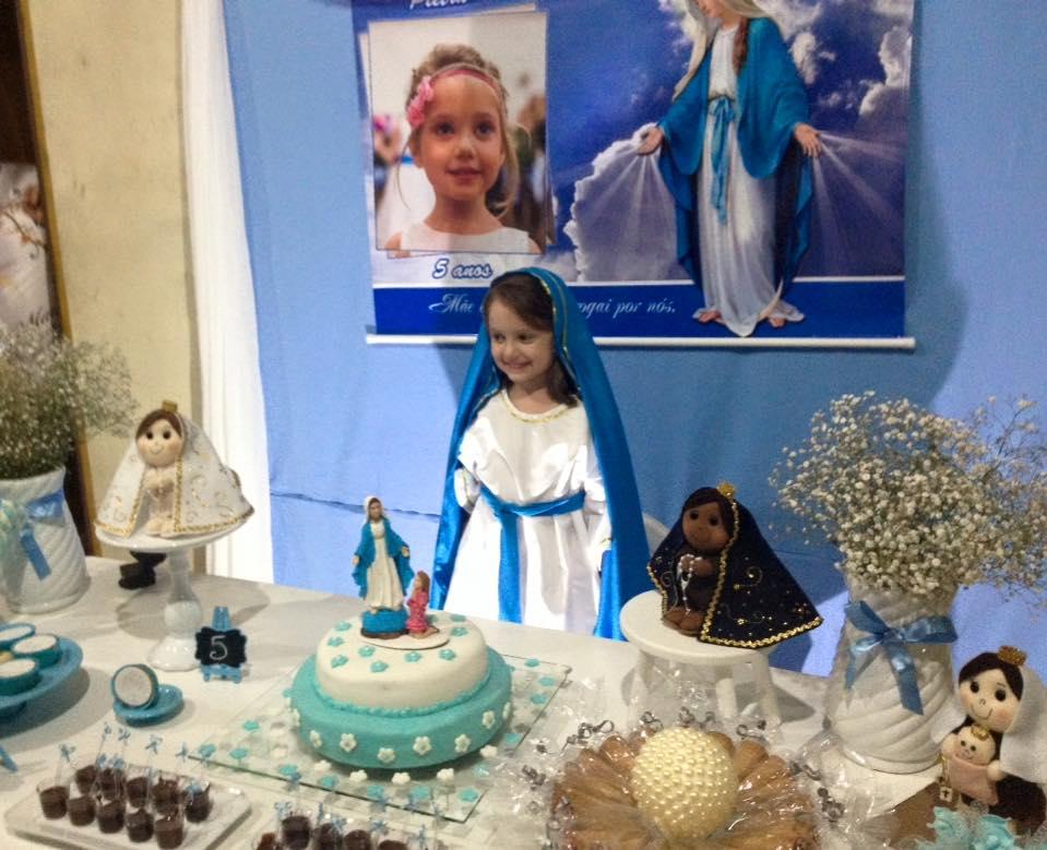 Nossa Senhora Aparecida Nossa Senhora De Fatima: Criança Pede Festa De Aniversário Temática De Nossa