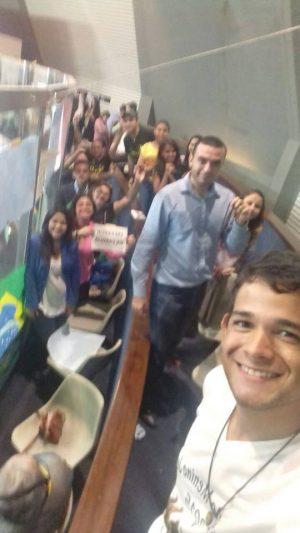 Gustavo Neto saiu da votação com a sensação de dever cumprido.