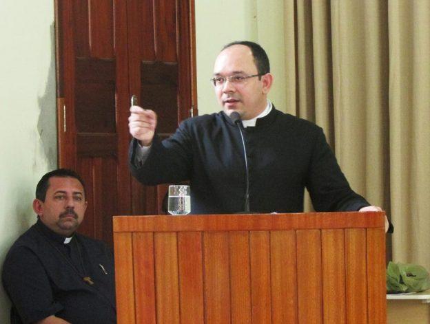 Padre Rafhael Maciel. Foto: Faculdade Católica.