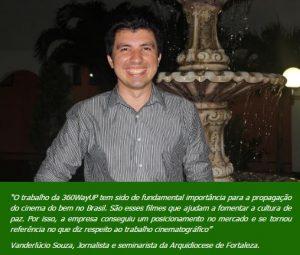 Vanderlúcio Souza,jornalista, Fortaleza.