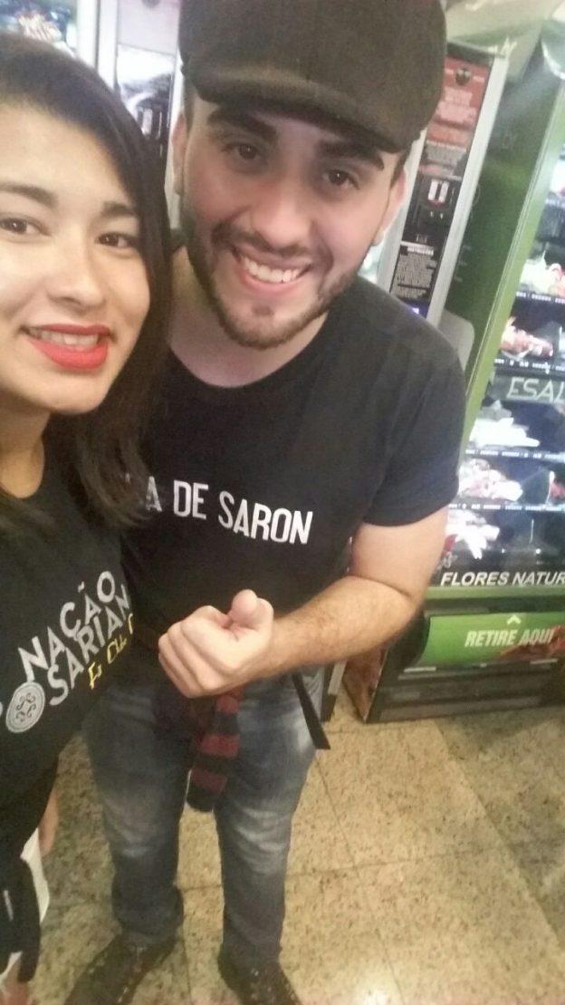 Lisrayne e Marcos Paulo.