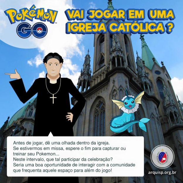arquidiocese de sao paulo pokemon go 02