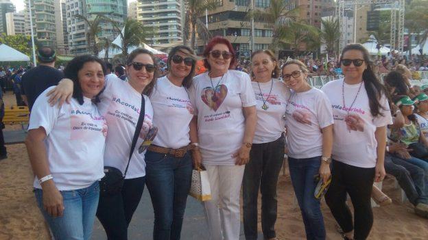Familiares de Laurinha participam do IX Evangelizar é Preciso.