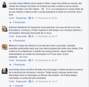 Fãs criticam Xuxa.