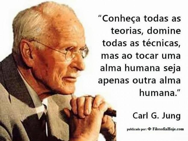 seja apenas uma outra alma Carl Jung