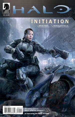 Graphic Novel de Halo Initiation
