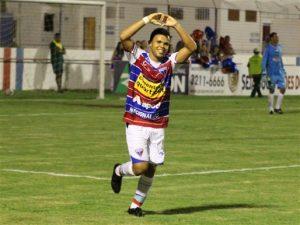 Romarinho fez o sexto gol da partida e fechou o placar. Foto: site oficial