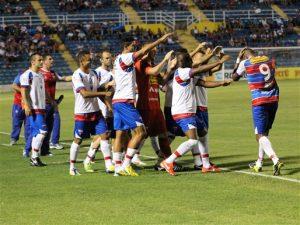 Robert marcou 2 gols na vitória sobre o Horizonte. Foto: site oficial