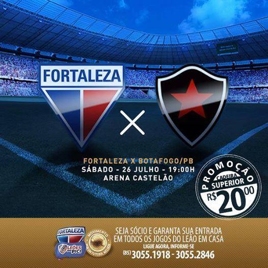 Fortaleza X Botafogo Pb Blog Do Leao
