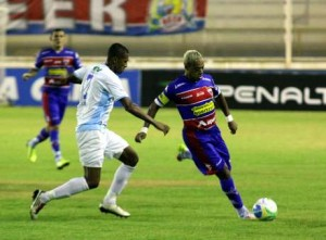 Fortaleza dependeu de Marcelinho que não foi bem. Foto:Futura Press