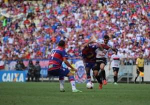 Fortaleza continua sem nunca ter vencido uma partida de quartas na Série C