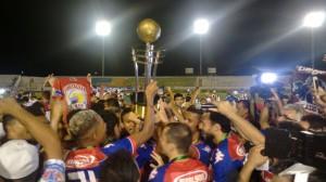 A Taça dos Campeões 2016 vai para o Pici