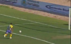 Isac teve humildade em gol e não entrou com bola e tudo no gol do Horizonte