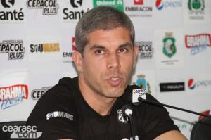 Resultados obtidos recentemente não foram bons e Ricardinho acabou dançando. (Foto: Cearasc.com/Divulgação)