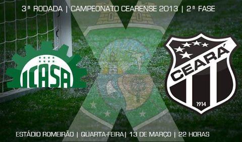 Icasa x Ceará – Pra pegar embalo (Imagem: Cearasc.com/Divulgação)