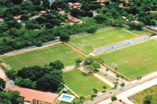 Vista aérea do CETEN (Foto: Divulgação)