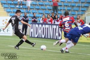 Mota voltou a deixar sua marca no rival (Foto: Cearasc.com/Divulgação)