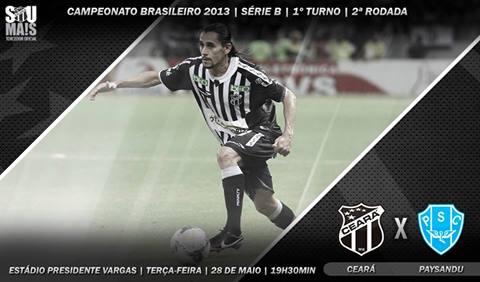 Ceará x Paysandu – Hora de voltar vencer! (Imagem: Cearasc.com/Divulgação)