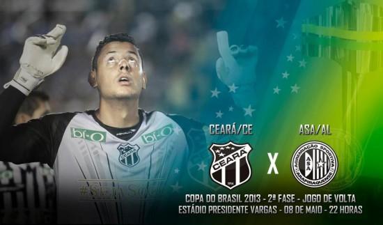 Ceará x ASA – Eu acredito!!!! (Imagem: Cearasc;com/Divulgação)