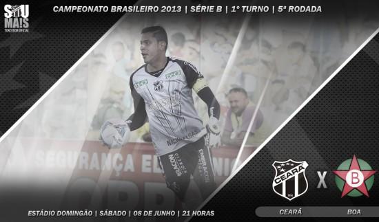 Ceará x Boa – Pra voltar a ficar numa boa (Imagem: Cearasc.com/Divulgação)