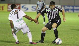 O time voltou a decepcionar e foi vaiada no final do jogo (Foto: Cearasc.com/Divulgação)