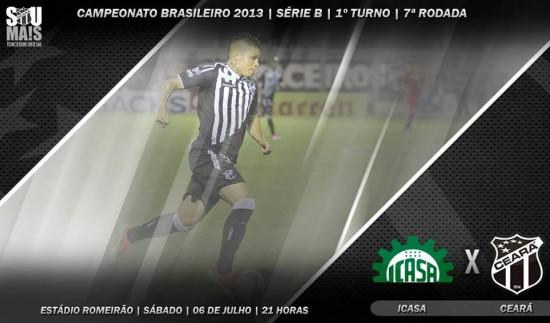 Icasa x Ceará – Começando de novo (Imagem: Cearasc.com/Divulgação)
