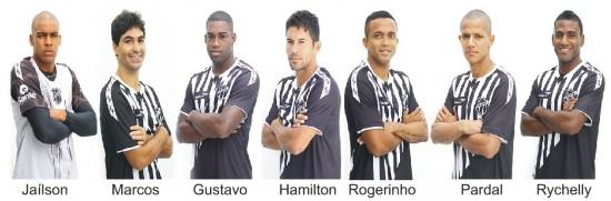 Sete novos jogadores foram contratados para o restante da temporada