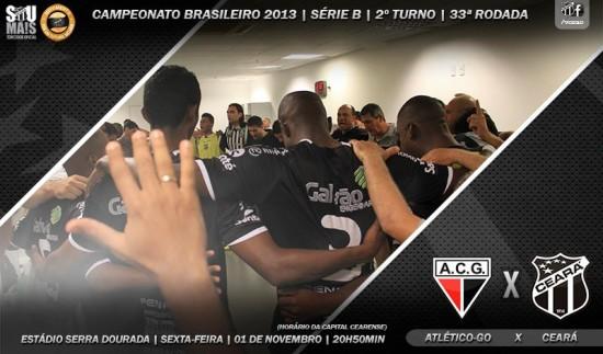 Atlético-GO x Ceará – Vamos torcer! (Imagem: Cearasc.com/Divulgação)