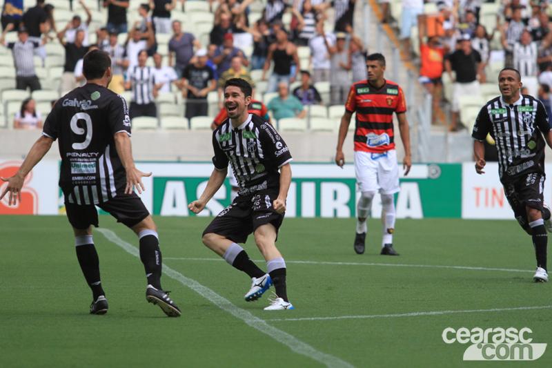 Ricardinho abriu o placar e foi peça fundamental no jogo (Foto  Cearsc.com 00edcff2f9bde