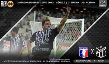 Guaratinguetá x Ceará – Olho vivo (Imagem: Cearasc.com/Divulgação)