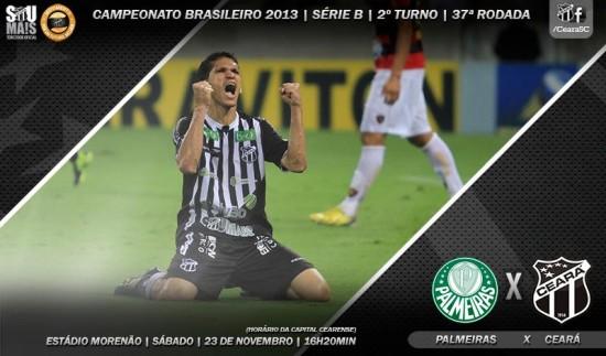 Palmeiras x Ceará – Decisão! (Imagem: Cearasc.com/Divulgação)
