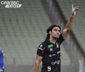 Léo Gamalho tem sua importancia dentro do elenco (Foto:Cearasc.com/Divulgação)