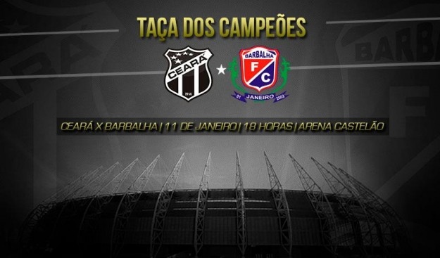 Ceará x Barbalha - Começando a temporada 2014 pro Vozão (Imagem: Cearasc.com/Divulgação)